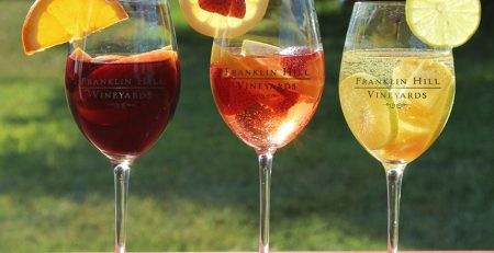 Franklin Hill Sangria Recipes
